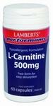 Lamberts L-Carnitine 500 mg 60vcaps