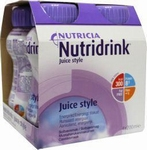 Nutricia Nutridrink Juice style cassis 4x200ml