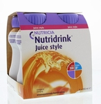 Nutricia Nutridrink Juice style sinas 4x200ml