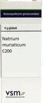 VSM Natrium muriaticum C200 globuli 4g