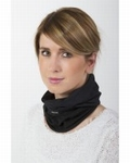 Back on Track functional scarf one size black loop Nekwarmer