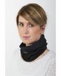 Back on Track functional scarf one size black loop Nekwarmer