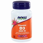 NOW Vitamine D3 2000IE 240sft