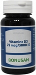 Bonusan 	Vitamine D3 75 mcg 3000IE 120softgels