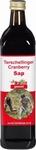 Terschellinger Cranberrysap gezoet BIO 750ml