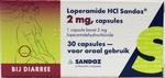 Sandoz Loperamide HCI 2mg 30caps