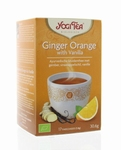 Yogi tea Ginger Orange Vanilla BIO 17zakjes