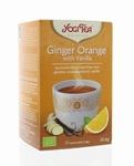 Yogi tea Ginger Orange Vanilla BIO 17zakjes