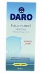 Daro Paracetamol vloeibar frambozensmaak vanaf 3mnd 100ml