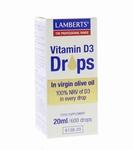 Lamberts Vitamine D3 druppels 20ml