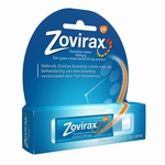 Zovirax Koortslip creme aciclovir 50mg/g 2g pompje