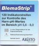 Blema-Strips pH meetstrips indicator speeksel/urine 120st