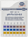 Indicatorstaafjes pH 0-6,0 indicatie 0,5 100strips