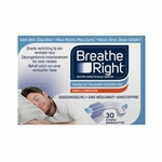 Breathe Right Glaxo 30 Neusstrips transparant