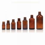 Druppelflacon din 18 flesje bruin glas zonder dop