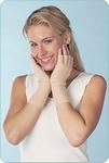 Medima 372 Handschoenen open vingers beige 50% Angora