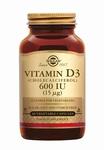 Solgar 3318 Vitamine D3 15 µg/600 IU 60caps