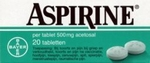 Aspirine 500mg 20tabl