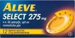 Aleve select 275mg 12tabl