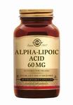 Solgar 0055 Alpha Lipoic Acid 60 mg (Liponzuur) 30caps
