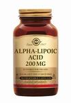 Solgar 0058 Alpha Lipoic Acid 200 mg (Liponzuur) 50caps