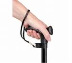 Able2 polsbandje zwart voor wandelstok