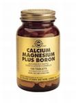 Solgar 0515 Calcium Magnesium Plus Boron 100tabl