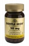 Solgar 1250 Gentle Iron IJzer bisglycinaat 20mg 180caps
