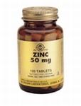 Solgar 3720 Zinc Zink 50 mg 100tabl