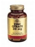 Solgar 3670 Zinc Citrate 30 mg Zink 100caps