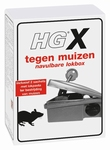 HG X lokbox tegen muizen & navulling Muizenlokdoos 1 set