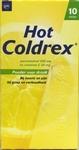 Hot Coldrex 10zakjes paracetamol 500mg vit C 30mg