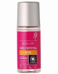 Urtekram Deo crystal roller Rose 50ml