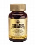 Solgar 2272 Prenatal Nutrients 120tabl