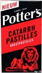 Potters Catarrh hoestpastilles 45g