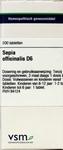 VSM Sepia officinalis  D6 200tabl